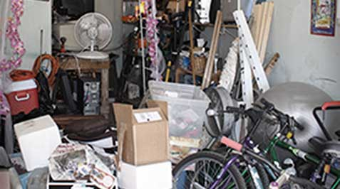 Garage BEFORE organization